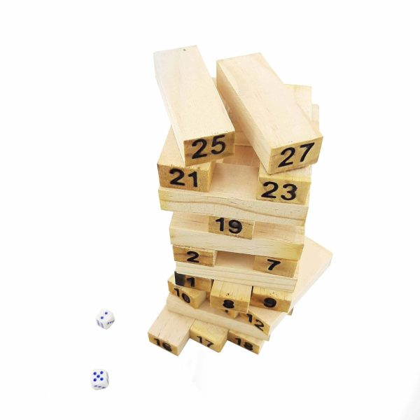 بازی برج هیجان چوبی