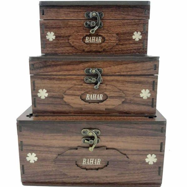 صندوقچه سه تایی مستطیل