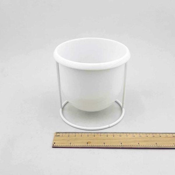 گلدان خاص فلزی پایه دار - ویرگولشاپ