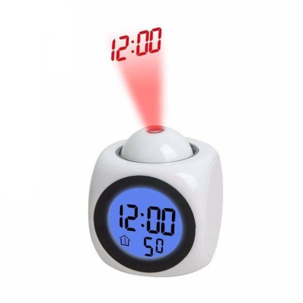 ساعت دیجیتال پرژکتوری لیزری رو میزی - ویرگولشاپ