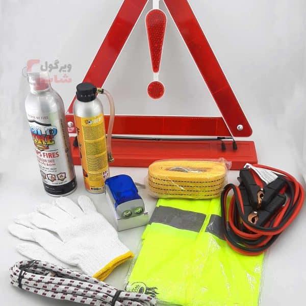کیف-ابزار-آلات-خودرو-پک ایمنی-خودرو-تیک-آف
