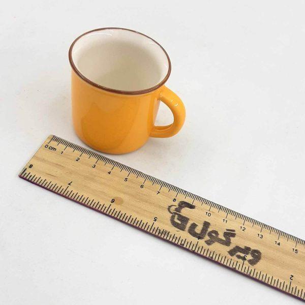 فنجون قهوه خوری رنگی