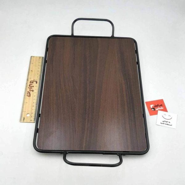 سینی فلزی چوبی خاص