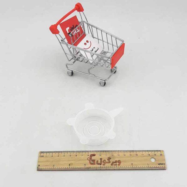 فروش در پوش محافظ غذای سیلیکونی 4