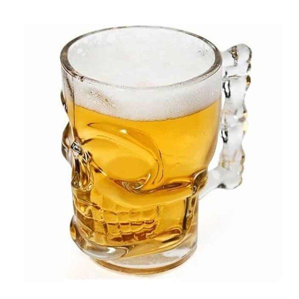 لیوان آبجو خوری بزرگ دسته دار اسکلت